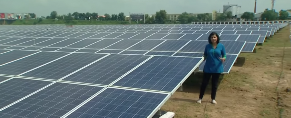 India Establishes World S First 100 Percent Solar Powered