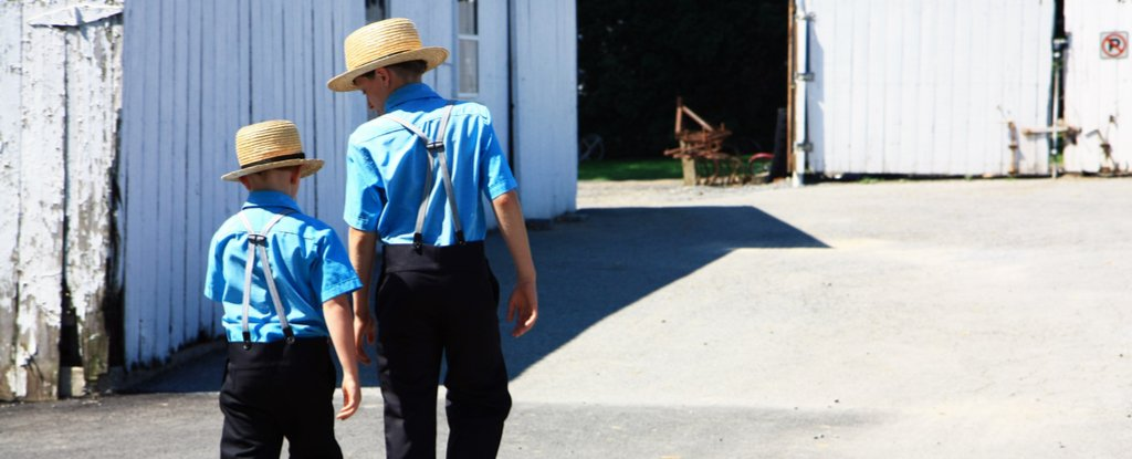 First Ever Anti-Ageing Gene Discovered in a Secluded Amish Family  Amish_boys_walking_to_meeting_shutterstock_1024