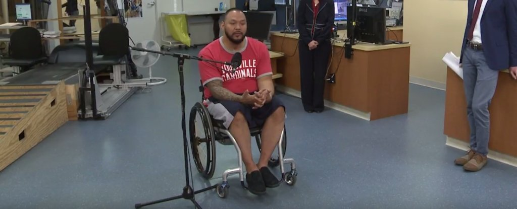 Breakthrough Treatment Lets Man With Spinal Cord Injury Stand And Move Legs