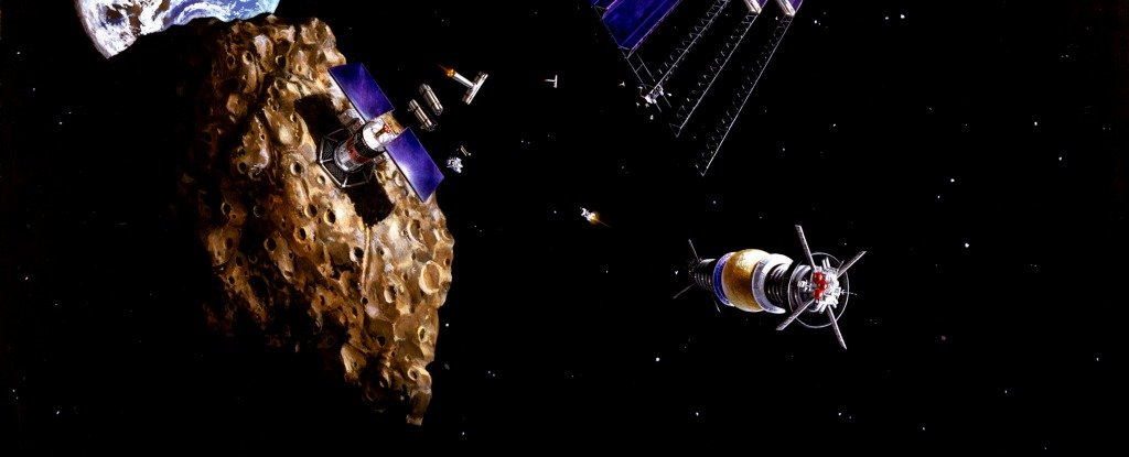 asteroid mining in space - photo #17