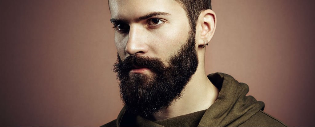 Bearded men are probab...