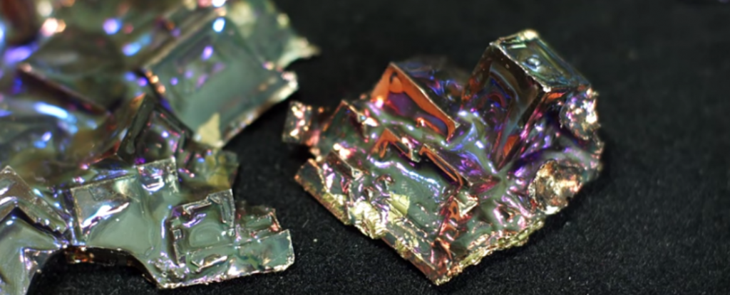 WATCH: Here's How to Make Bismuth Crystals at Home