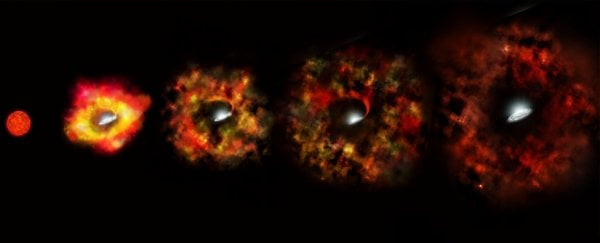 This failed supernova might have given us our first look at the birth of a black hole