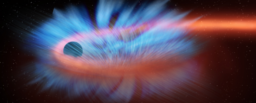 Watch This Is What It Looks Like When A Black Hole Shreds