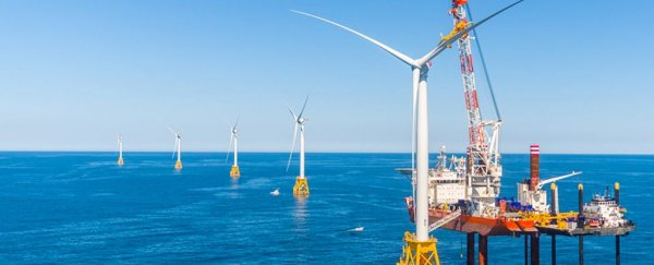 The first offshore wind farm in the US has finally been completed
