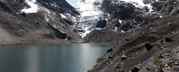 Bolivia's melting glaciers have become ticking time bombs
