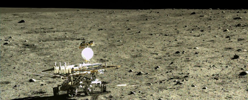 China's Rover Has Discovered a New Type of Moon Rock