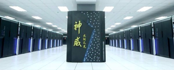 China says its world-first 'exascale' supercomputer is almost complete