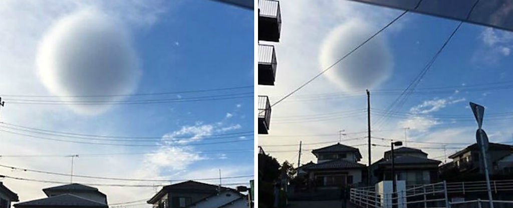 This Strange 'Spherical' Cloud Appeared in The Sky Over Japan