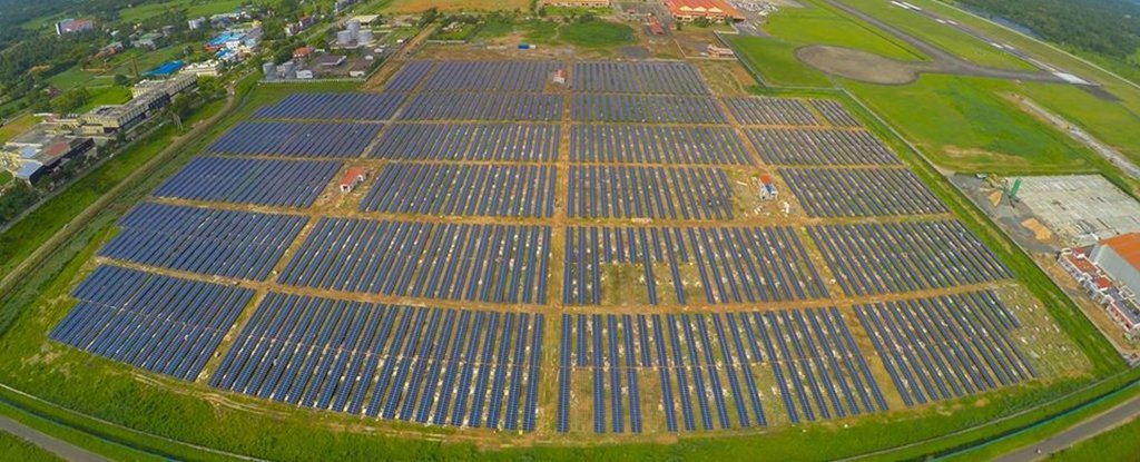 The World S First Solar Powered Airport Is No Longer