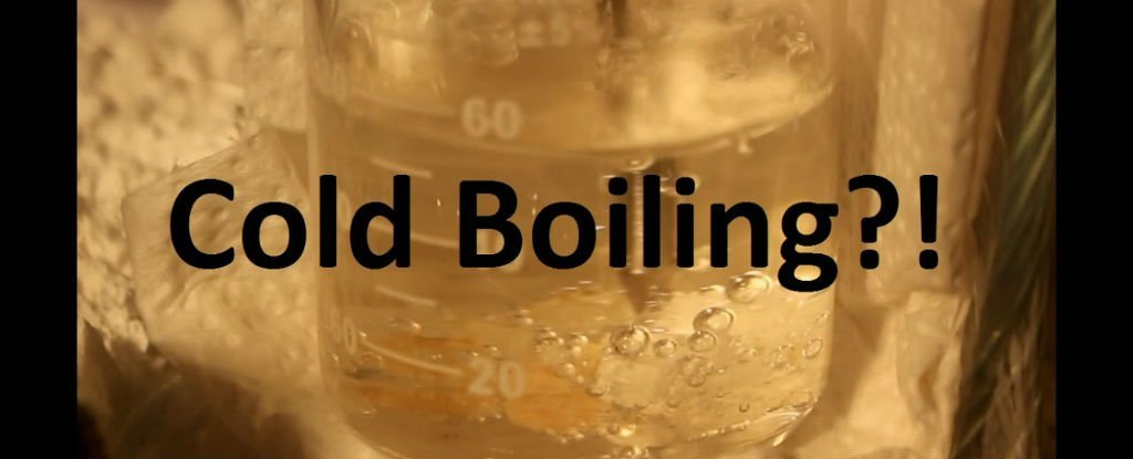 It's Scientifically Possible to Boil Water Until It Freezes Solid