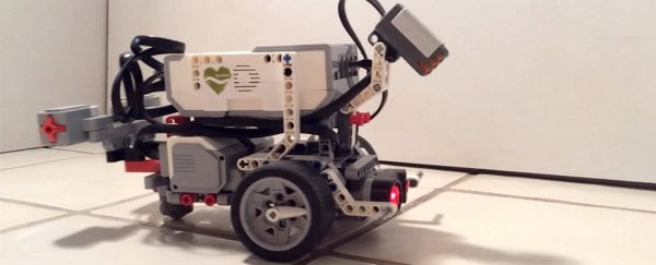 Scientists Put a Worm Brain in a Lego Robot Body - And It Worked