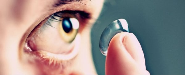 Sony has filed a patent for contact lenses that record and store videos with the blink of an eye