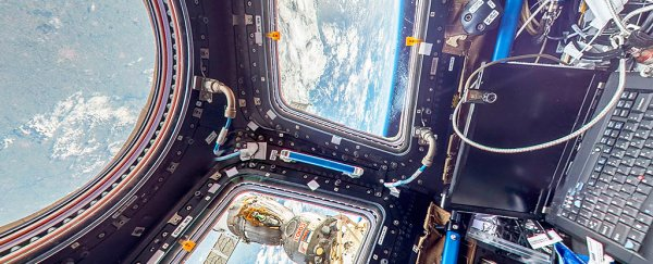 For the first time ever, you can actually visit the ISS with Google Street View