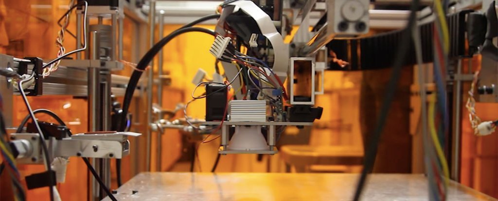 Scientists Unveil World S First 3d Printer That Can Print
