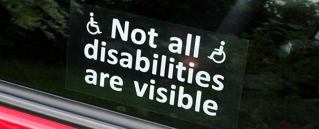 Disabilities car sign 1024