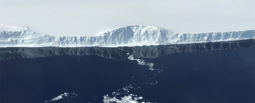 NASA Finally Has Stunning Photos of The Giant Iceberg That Broke Off Antarctica