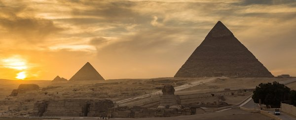 A giant volcano eruption could have sparked the collapse of Ancient Egypt
