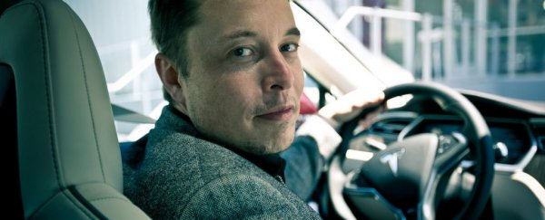 Elon Musk is officially out on flying cars
