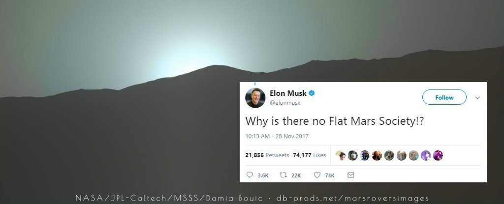 The Flat Earth Society Just Responded To Elon Musk S Tweet