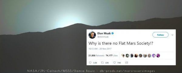 88265349 The Flat Earth Society Just Responded to Elon Musk's Tweet And We're  Confused