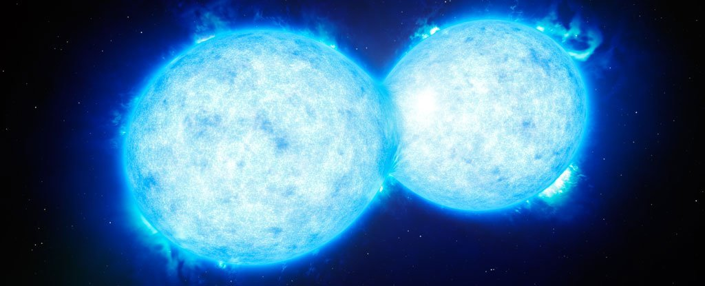 Scientists Find Two Distant Stars Touching, And The Results Could Be Catastrophic