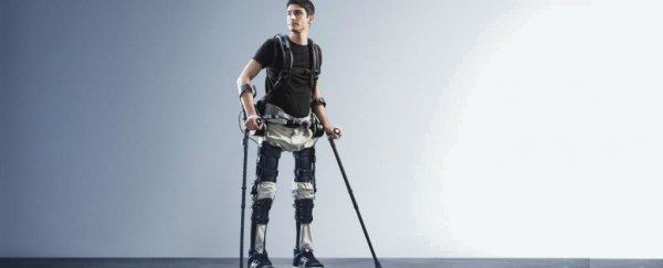 This new robotic exoskeleton is helping paralysed patients walk again