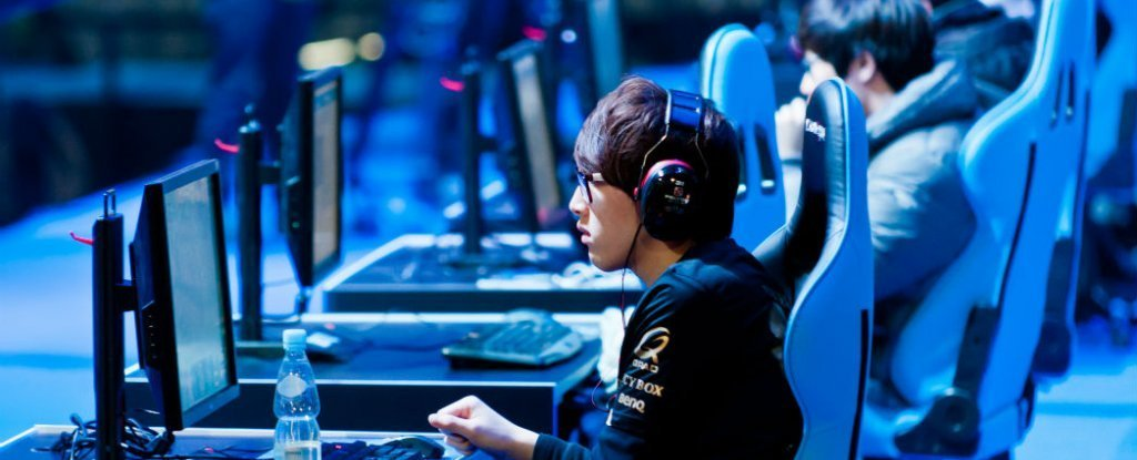 Gamers have more grey matter and better brain connectivity