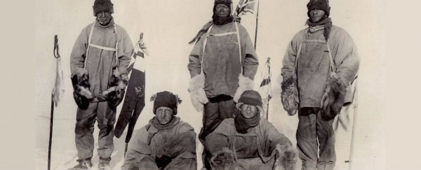 Early explorer logbooks reveal Antarctic sea ice has barely changed in 100 years