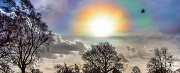 Incredible 'fire rainbows' just appeared in the sky over Britain