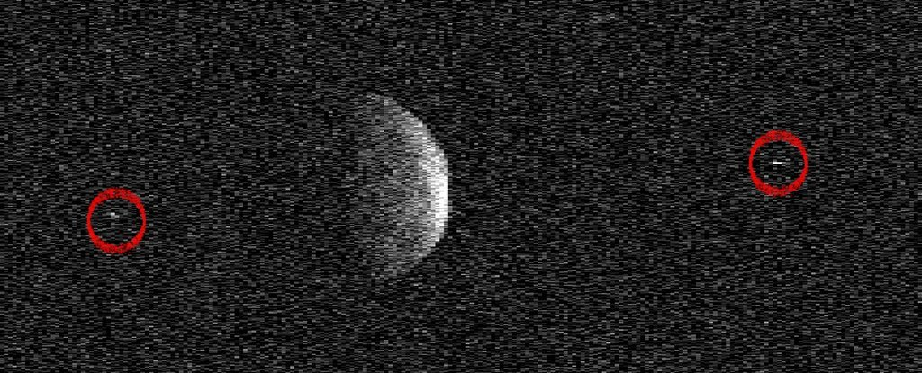 The Asteroid That Just Came Close to Earth Is So Huge It Has Its Own Moons