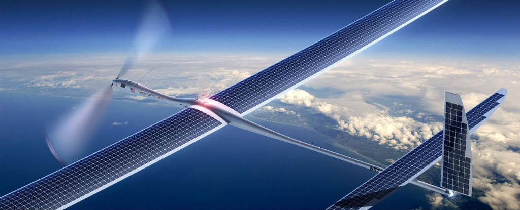 Google's Planning to Deliver Super-Fast 5G Internet From Solar-Powered Drones