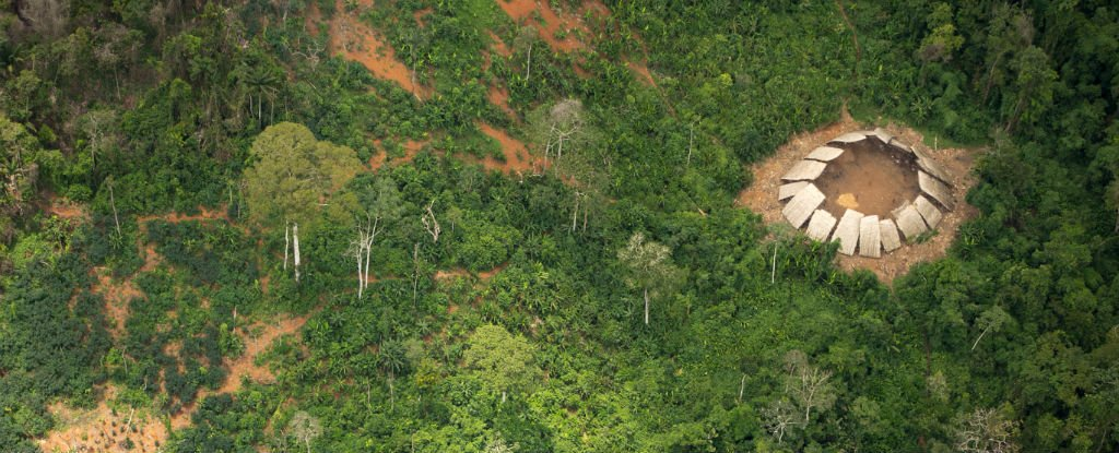 new photos reveal an uncontacted amazon tribe is