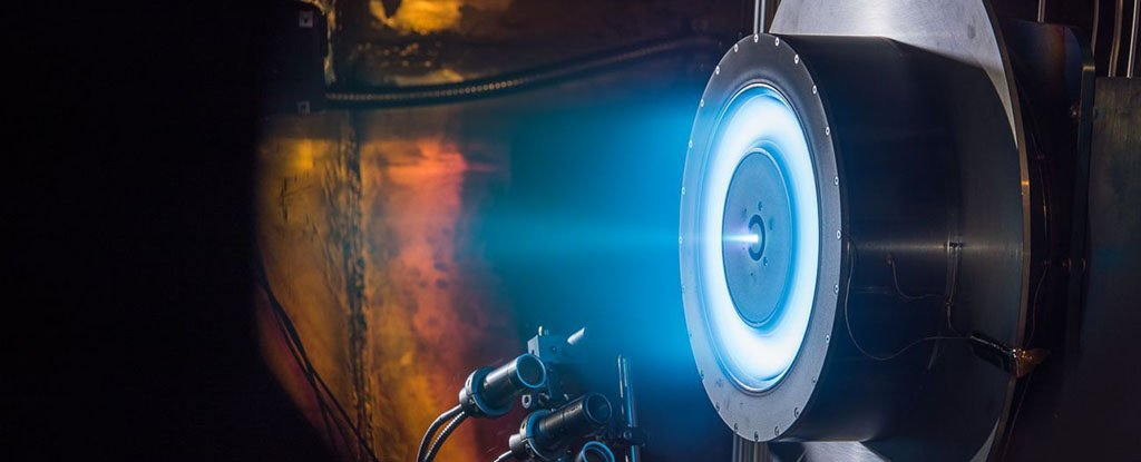 NASA's New Ion Thruster Engine Is Breaking Some Important Records