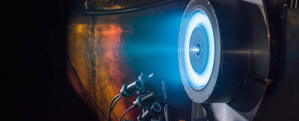 Scientists Just Completed a Record-Breaking Test of The Revolutionary X3 Ion Engine