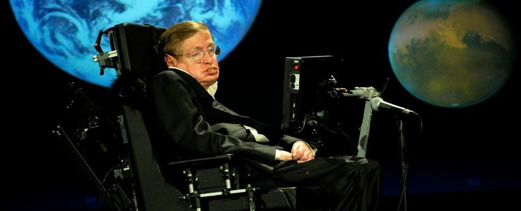 Stephen hawking just announced he 39 s going to space for Outer space design group pty ltd