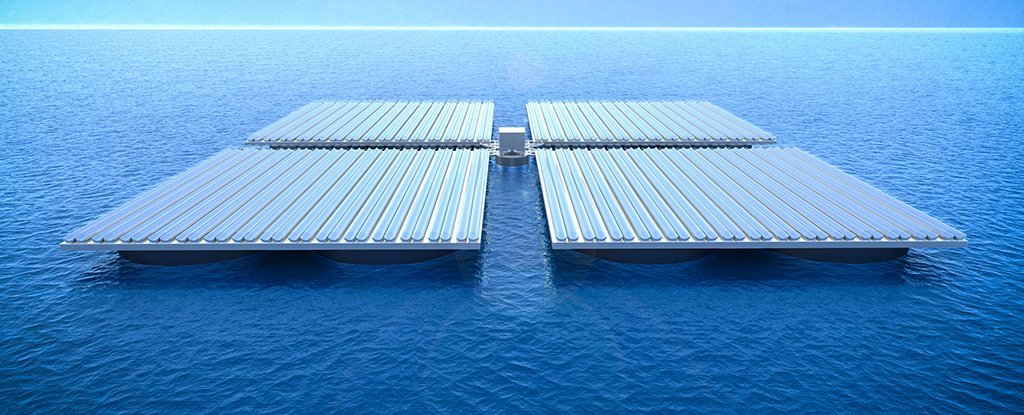 This Huge Solar Panel Barge Could Be The Future Of Ocean
