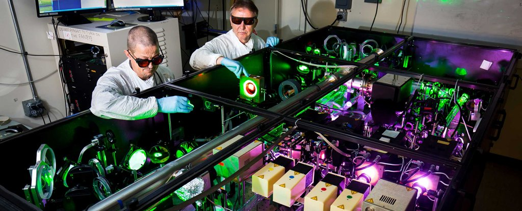 World's Most Intense Laser Is About to Get a Totally Insane Upgrade