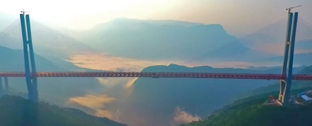 WATCH: The world's highest bridge just opened and it's terrifying ...