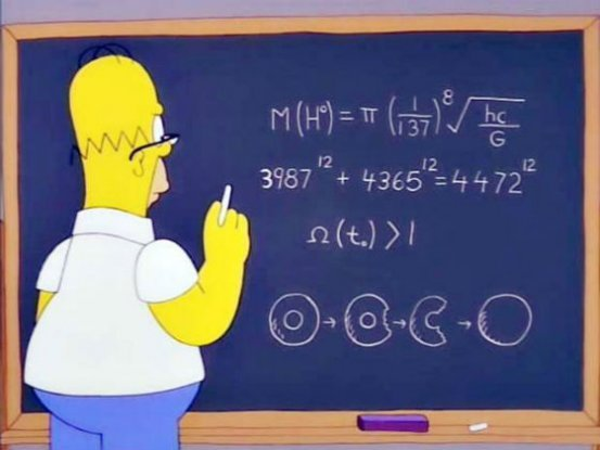 Homer Simpson Predicted The Mass of The Higgs Boson 14 Years Before CERN