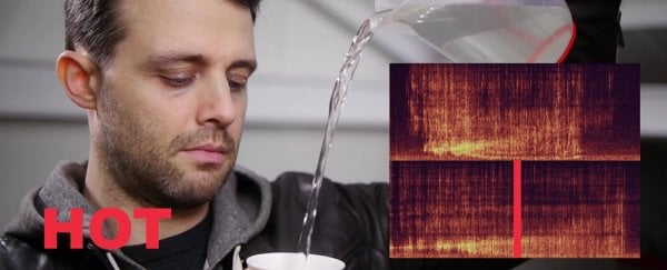 WATCH: Your ears can actually tell the difference between hot and cold water
