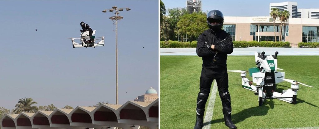 Dubai Police Will Soon Be Buzzing Around On These Epic