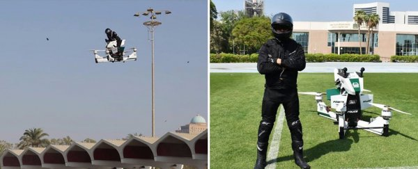 Dubai police will soon be buzzing around on these epic hoverbikes