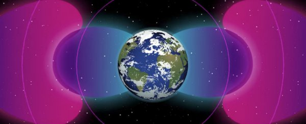 nasa space probes have detected a human-made barrier surrounding earth