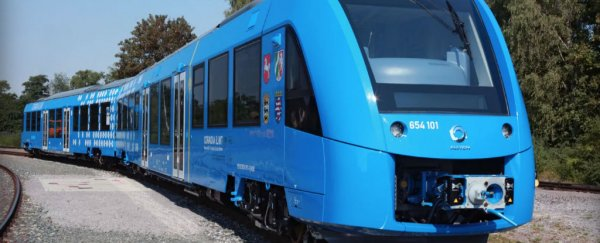 The world's first hydrogen-powered passenger train is coming to Germany