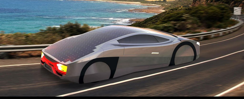 meet the immortus the world s first solar powered exotic sports car. Black Bedroom Furniture Sets. Home Design Ideas
