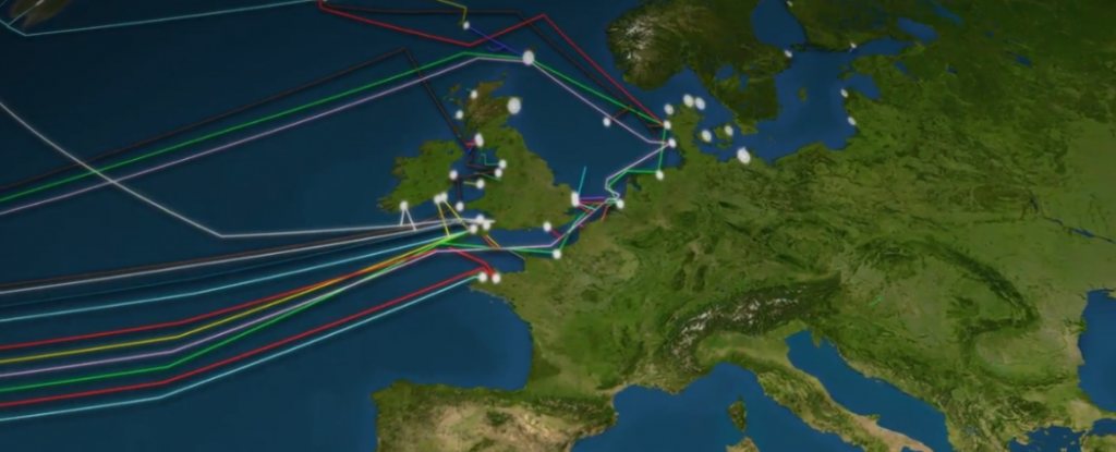 Watch: This map shows the 885,000 km of Internet cable ...