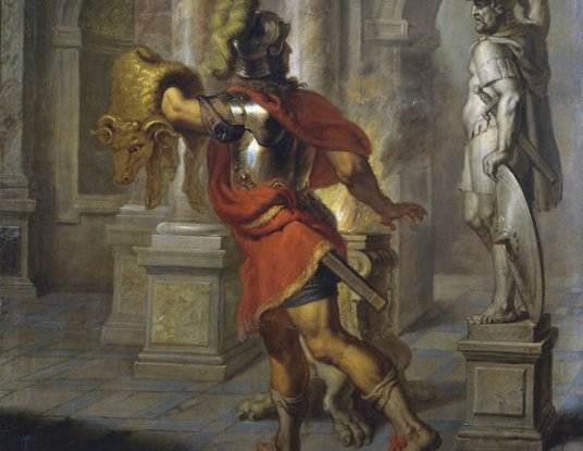achilles and hercules true heros Aeneas, the anti-hero of aeneid  one of these heroes is hercules, who is,  a true hero is really never a hero at all.