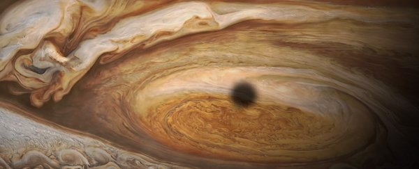 Here's what Juno discovered when it flew through Jupiter's Great Red Spot