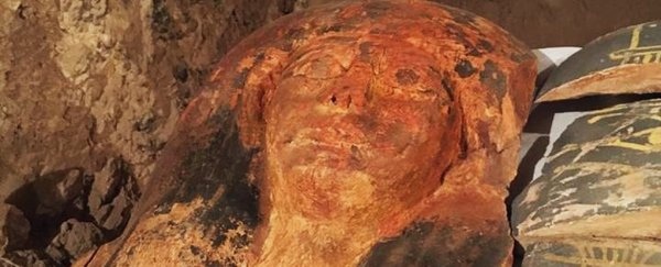 A 3,500-year-old mummy has been found in a forgotten tomb in Egypt